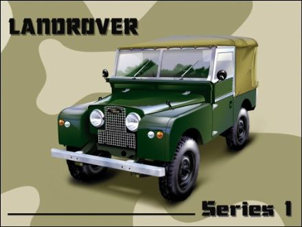 Land Rover Series 1 -  Metal Wall Sign (3 sizes)